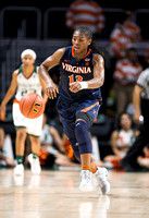 NCAA W Basketball 2017 : Virginia Cavaliers vs Miami