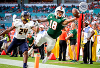 NCAA Football 2017: Toledo vs Miami SEP 23