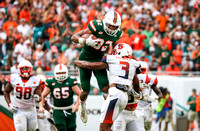 NCAA Football 2017 - Syracuse vs Miami