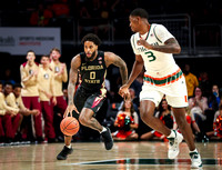 NCAA Basketball 2018: Florida State vs Miami JAN 07