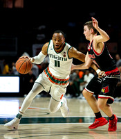 NCAA Basketball 2018: Louisville vs Miami