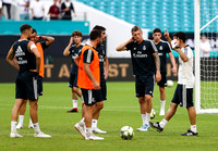 Soccer 2018: Real Madrid C.F. Open Training and Press Conference
