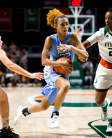 NCAA Women's Basketball 2017: North Carolina vs Miami JAN 26