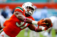 NCAA Football 2016: North Carolina vs Miami