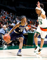 NCAA Womens Basketball 2017: Notre Dame vs Miami JAN 08