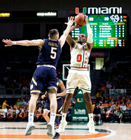 NCAA Basketball 2017: Notre Dame vs Miami
