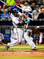 MLB 2017: Braves vs Marlins MAY 12