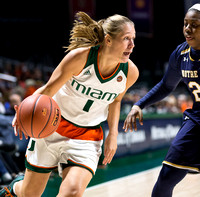 NCAA W Basketball 2017: Notre Dame vs Miami